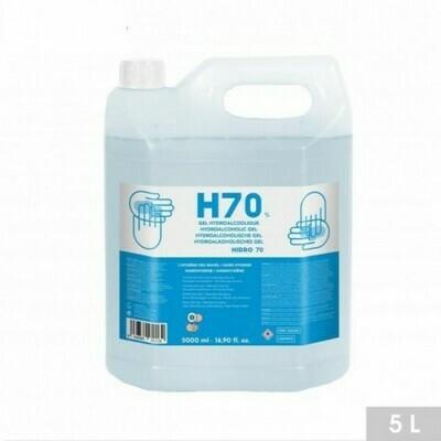 Hydro alcoholische gel H70% 5L