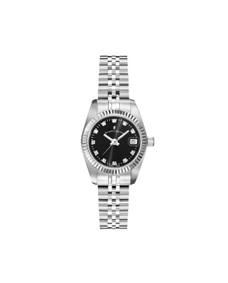 Inspiration Stainless Steel case, BLACK Dial, Stainless Steel (no Plating) Bracelet, 26.0 mm