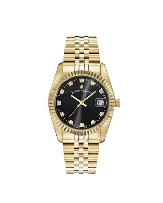 ] Inspiration Inspiration SS IPGold case, BLACK Dial, SS IPGold Bracelet, 36.0 mm