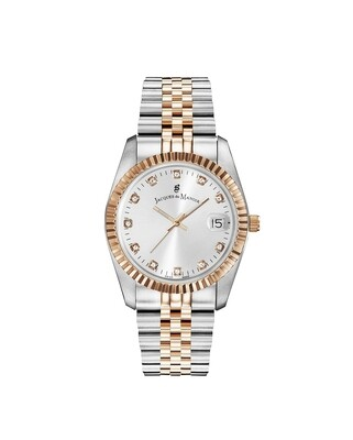 [NROP.23] Inspiration Inspiration SS IPRosegold Two Tone case, WHITE Dial, SS IPRosegold Two Tone Bracelet, 36.0 mm