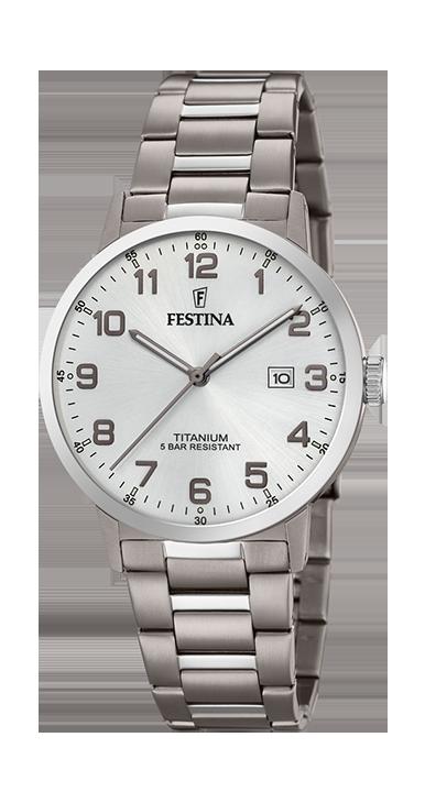 FESTINA CAB.TIT.ESF.PLATA F20435/1