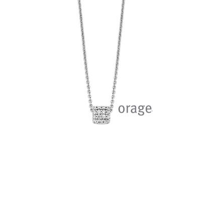 Orage: AR034-V1326 Ketting 925 rh cz (V/39)