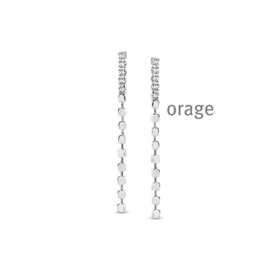 Orage: AR006 Oorslingers 925 rh cz (V/14)