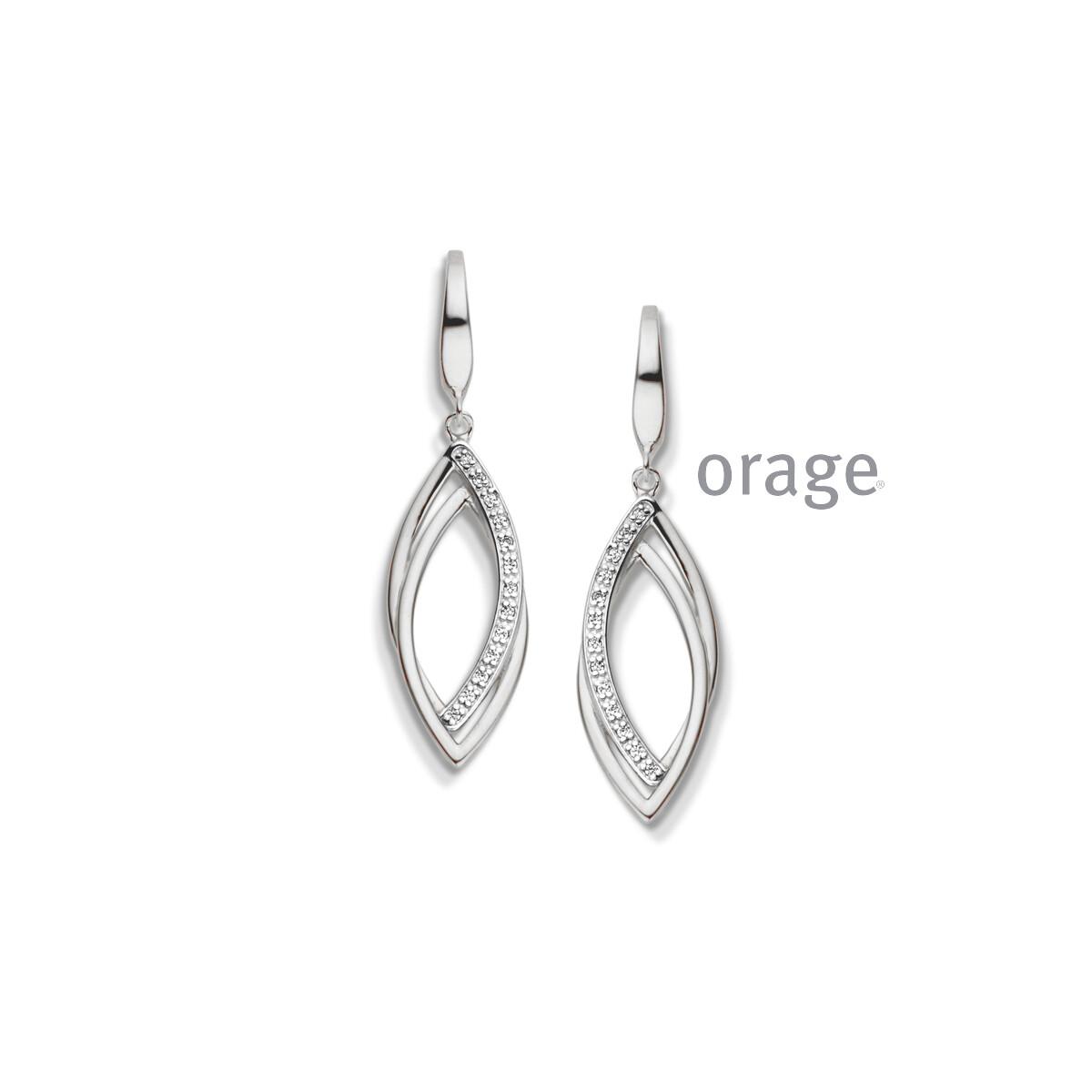 Orage:  AR022-V1322 Oorslingers 925 rh cz (V/14)