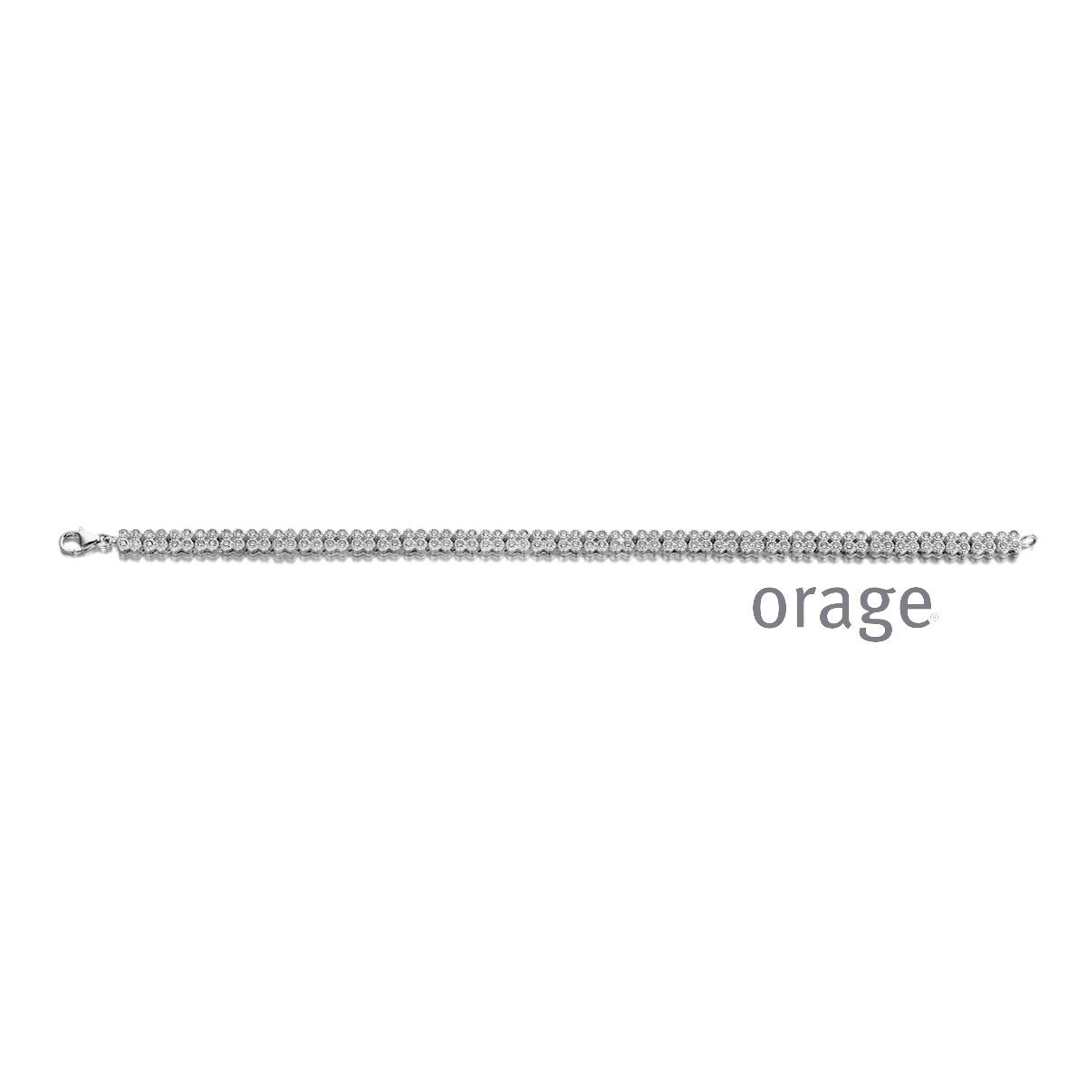Orage:  AR109-AP004 Armband 925 rh cz (V/28)