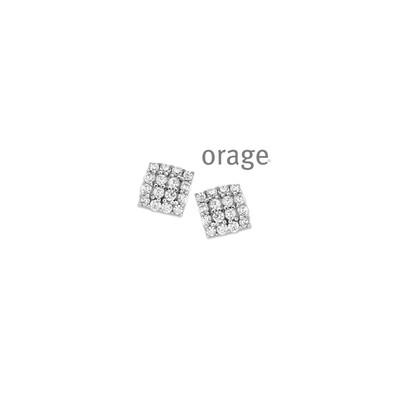 Orage:  AR035-V1327 Oorringen 925 rh cz (V/39)