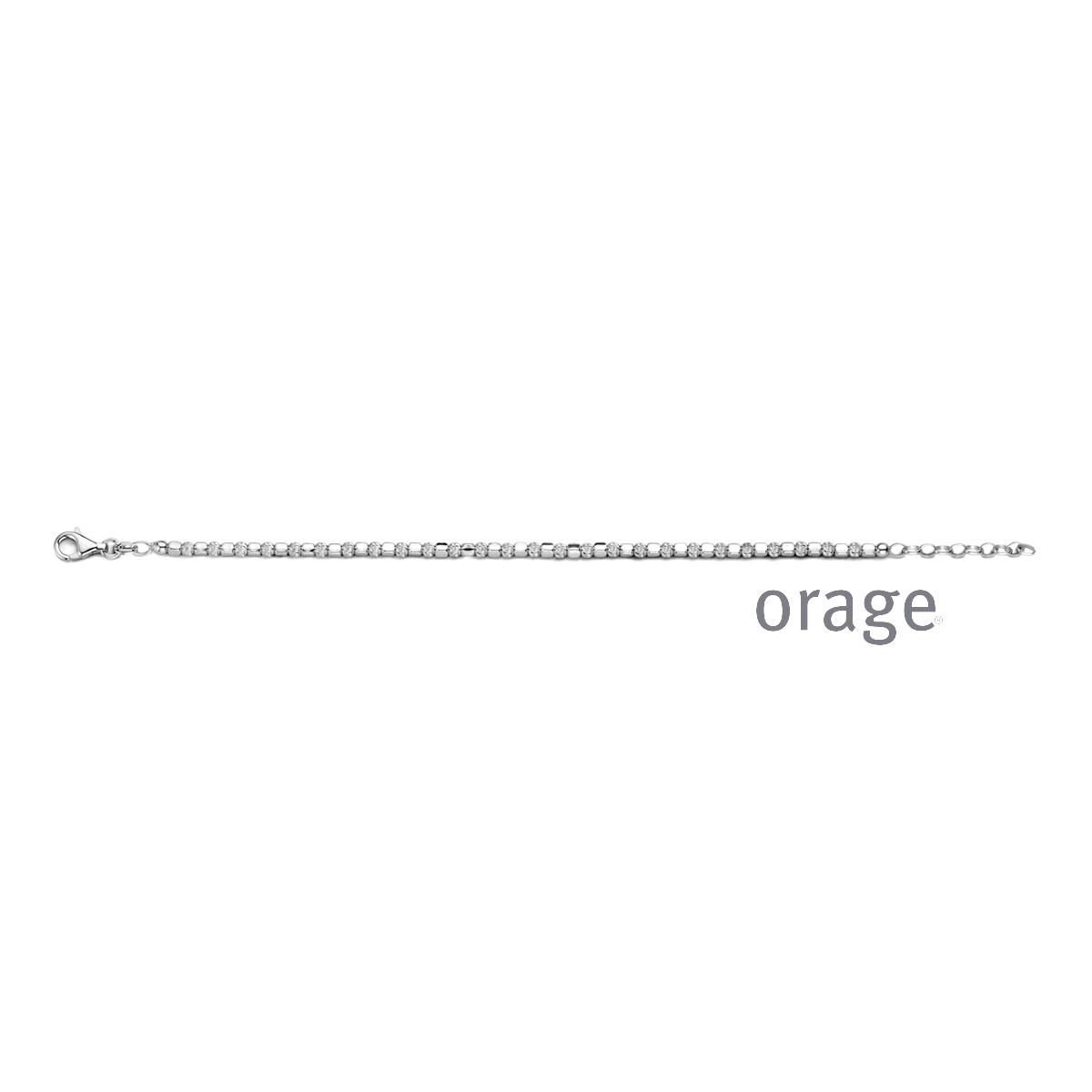 Orage:  AR119 Armband 925 rh (V/28)