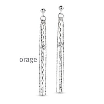 Orage:  AR055 Oorslingers 925 rh cz (V/14)