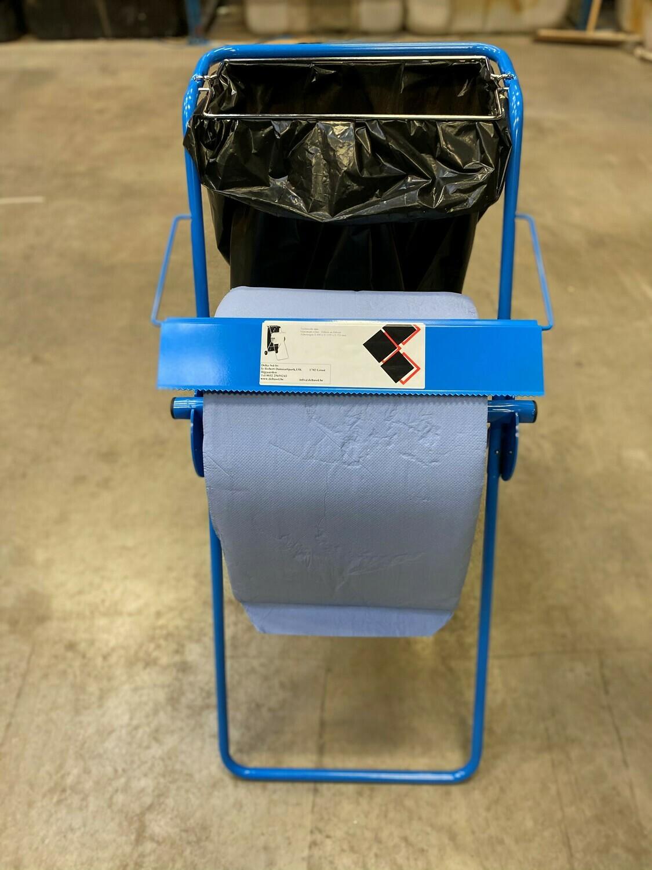 Vloerdispenser industrie rollen met vuilniszak houder