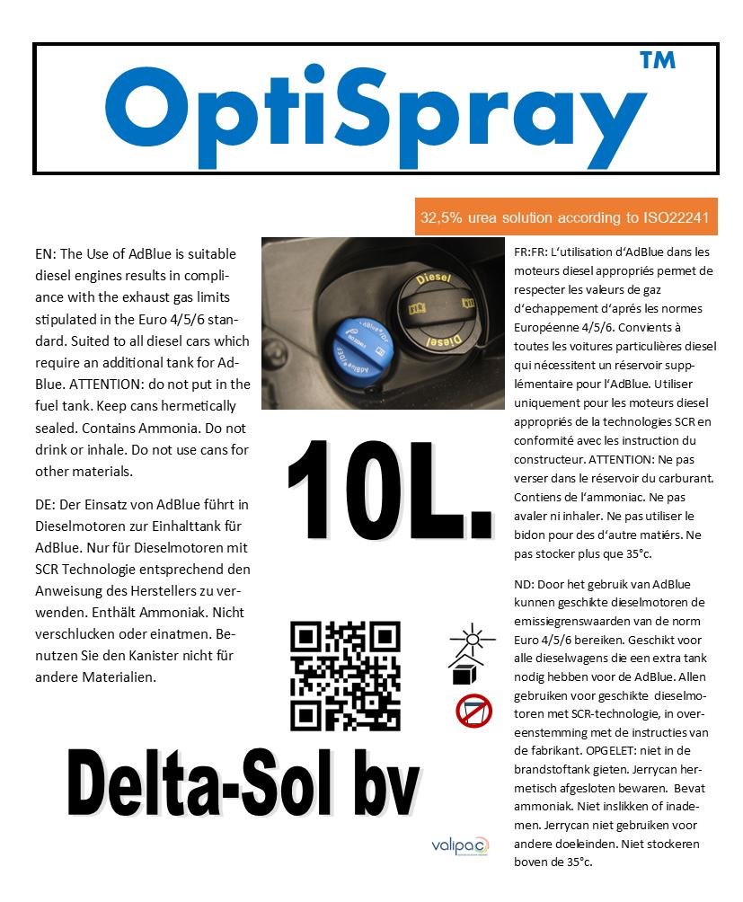 OptiSpray ™ 5L.