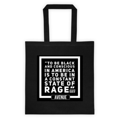 BALDWIN RAGE Tote Bag