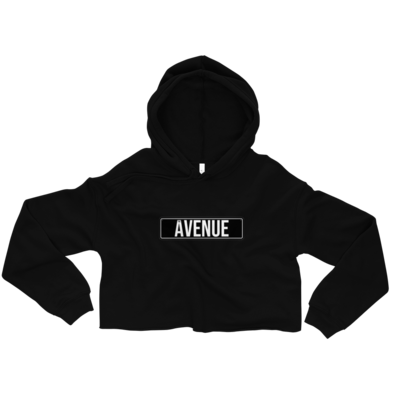 THE AVENUE Hoodie (cropped)