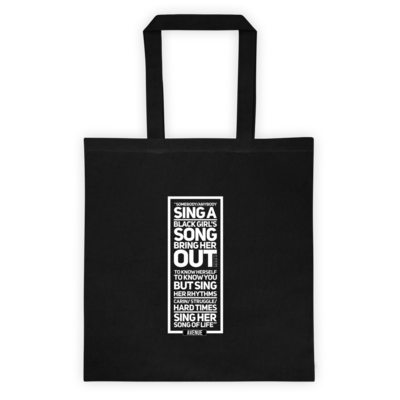 BLACK GIRL SONG Tote
