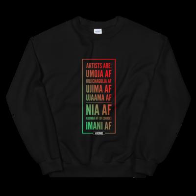 Kwanzaa AF Unisex Sweatshirt