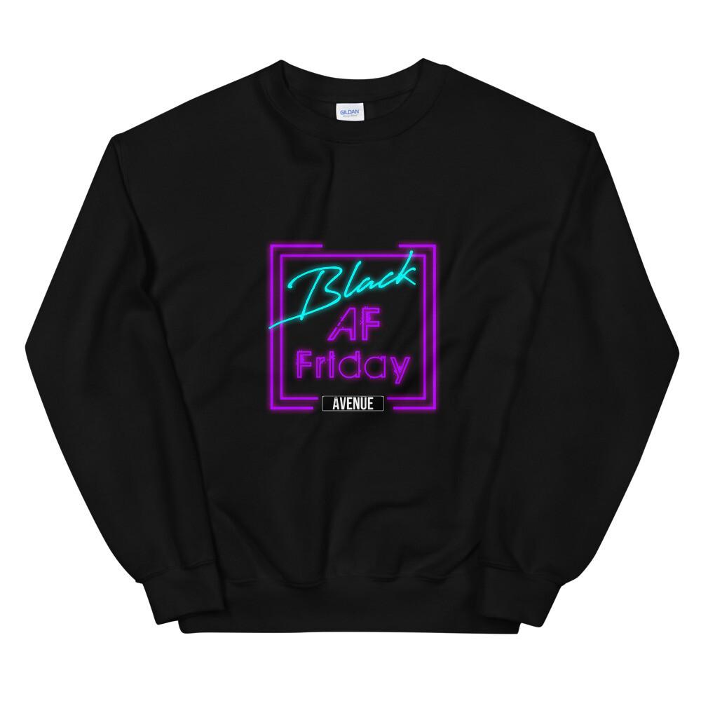 BLACK AF Unisex Sweatshirt