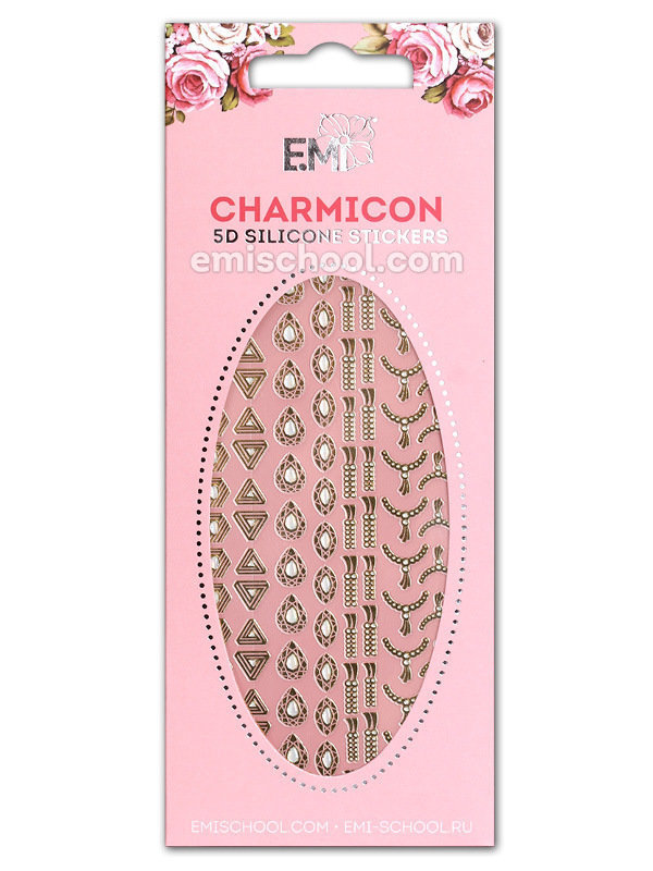 Charmicon 5D Silicone Stickers # 55 Royal