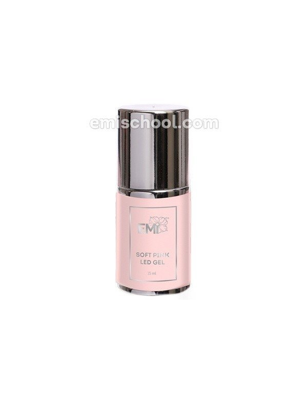 Soft Pink LED Gel in the bottle, 15 ml.