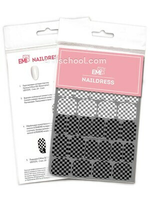 Naildress Slider Design #38 Chess