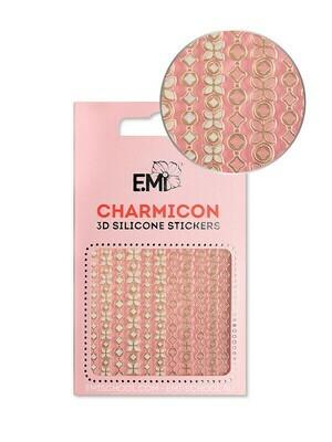 Charmicon 3D Silicone Stickers #152 Chain