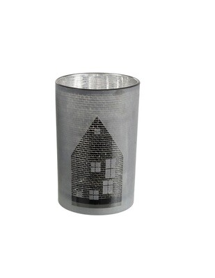 Подсвечник House Glass Black