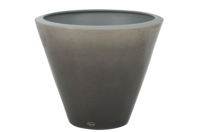 "Вазон Shiny Ceramic Grey L ""Jolipa"""