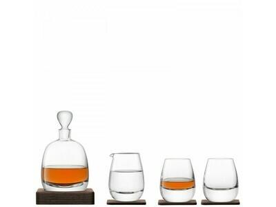 НАБОР ДЛЯ ВИСКИ с деревянными подставками Islay Whisky LSA