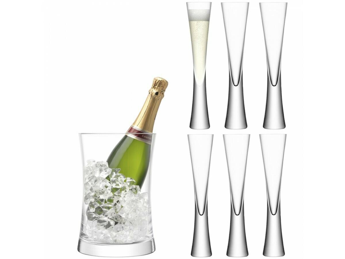 НАБОР ДЛЯ СЕРВИРОВКИ шампанского Moya прозрачный LSA