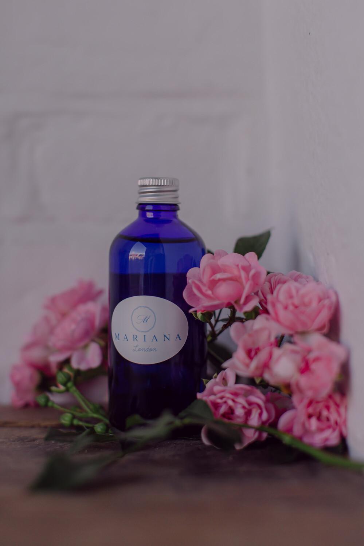 Rose Geranium and Bergamot Bath Oil (100ml)