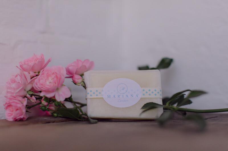 Lemongrass and Peppermint Guest Soap (approx 60g)