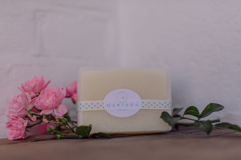 Lemongrass and Peppermint Soap (approx 110g)