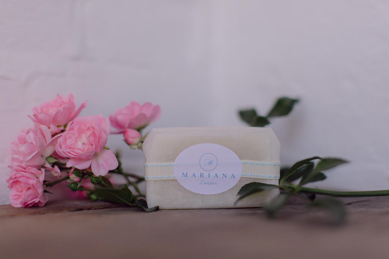 Rose Geranium and Bergamot Guest Soap (approx 60g)