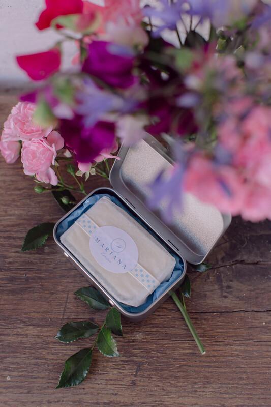 Lemongrass and Peppermint Travel Soap Tin