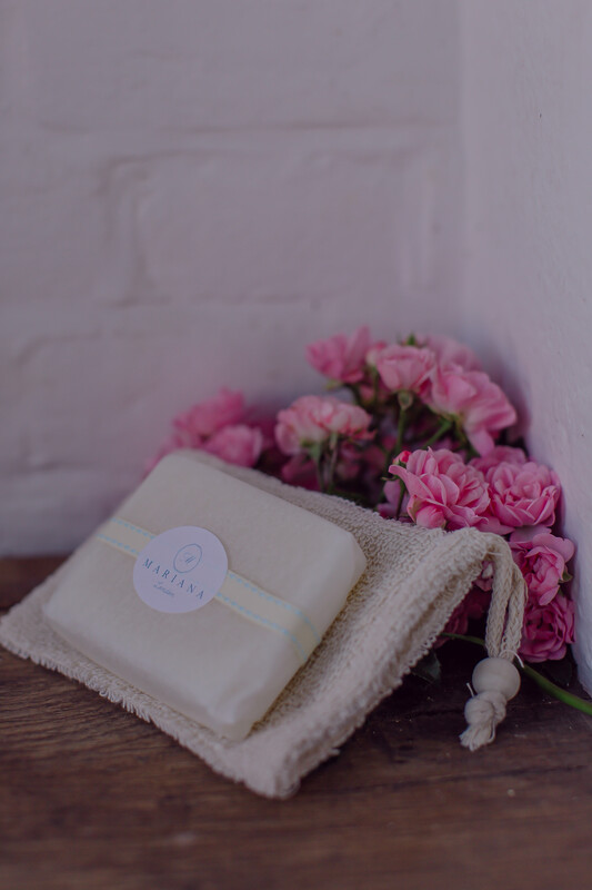 Rose Geranium and Bergamot Shower Soap