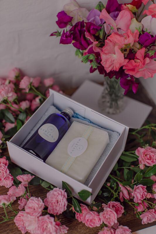 Rose Geranium and Bergamot Deluxe Gift Box