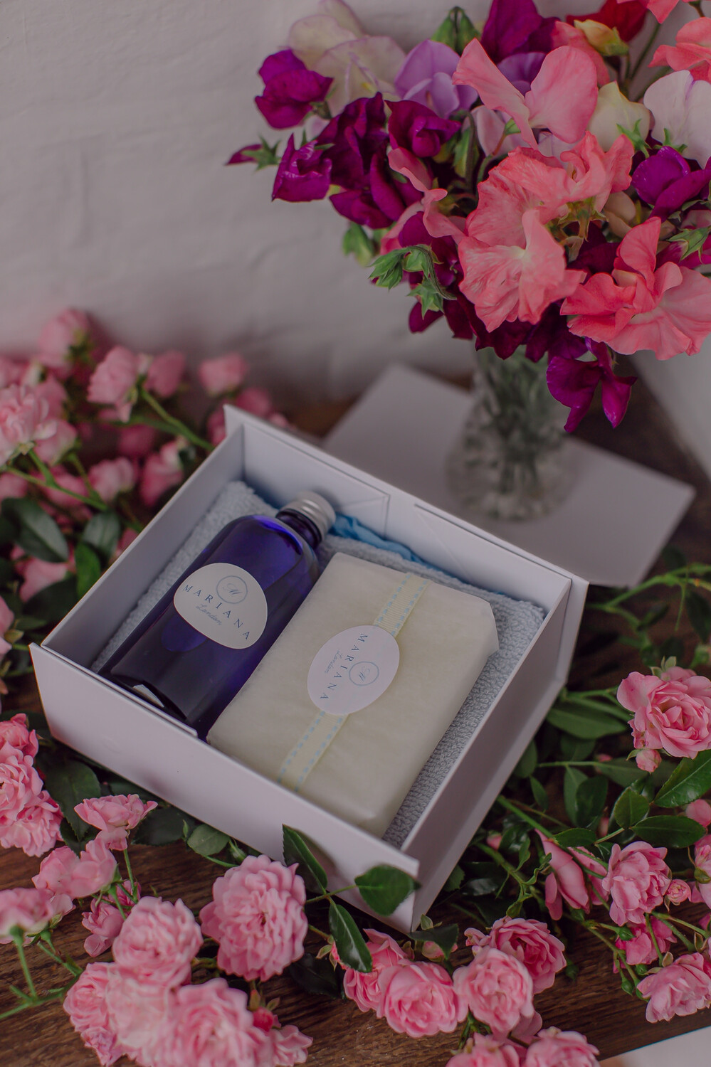 Rose Geranium and Bergamot Deluxe Gift Box