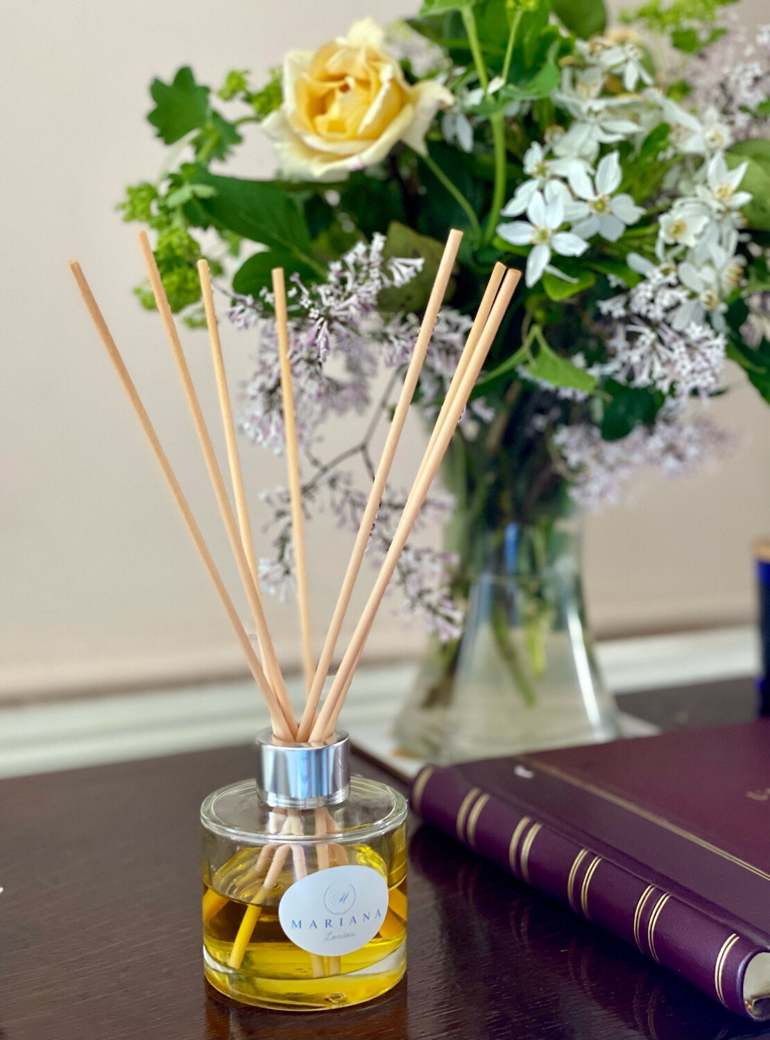 Sweet Orange and Patchouli Reed Diffuser