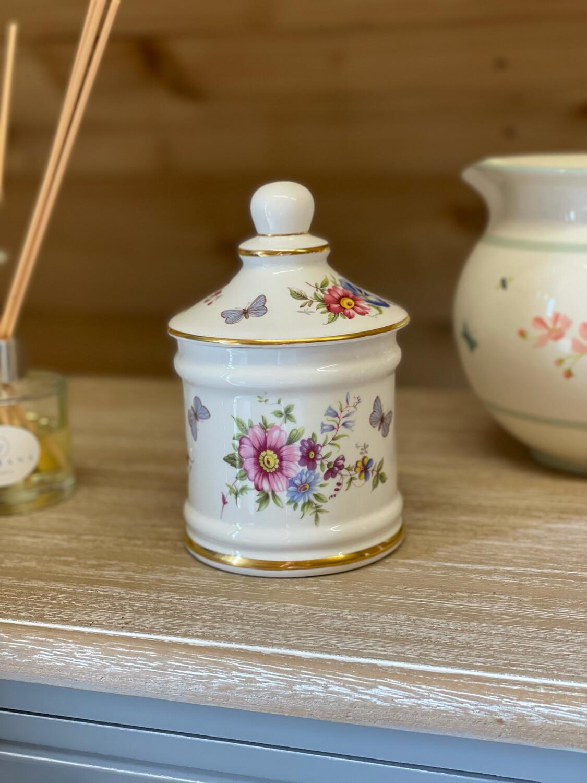 Vintage Bone China Bathroom Pot