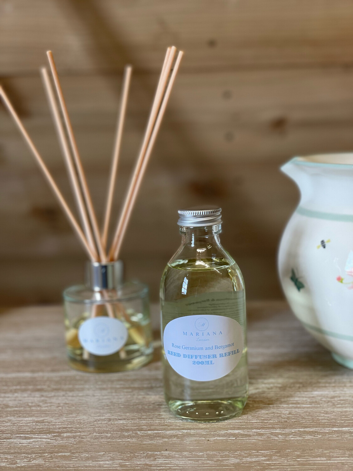 Sweet Orange and Patchouli Diffuser Refill 200ml