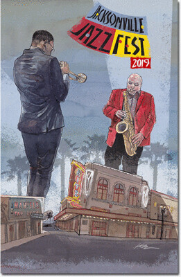 2019 Poster Signed and Numbered