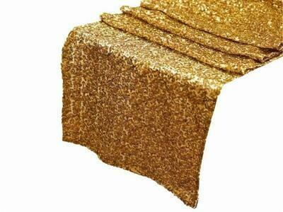 Gold Premium Sequin Runner