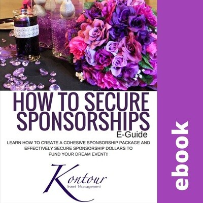 How to Secure Sponsorship Ebook
