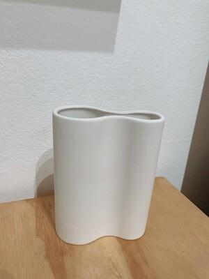 MARMOSET FOUND - SMALL INFINITY VASE, WHITE