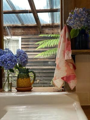KH Print Tea Towel in Dusk Sky