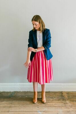 The Stripe Anna Skirt