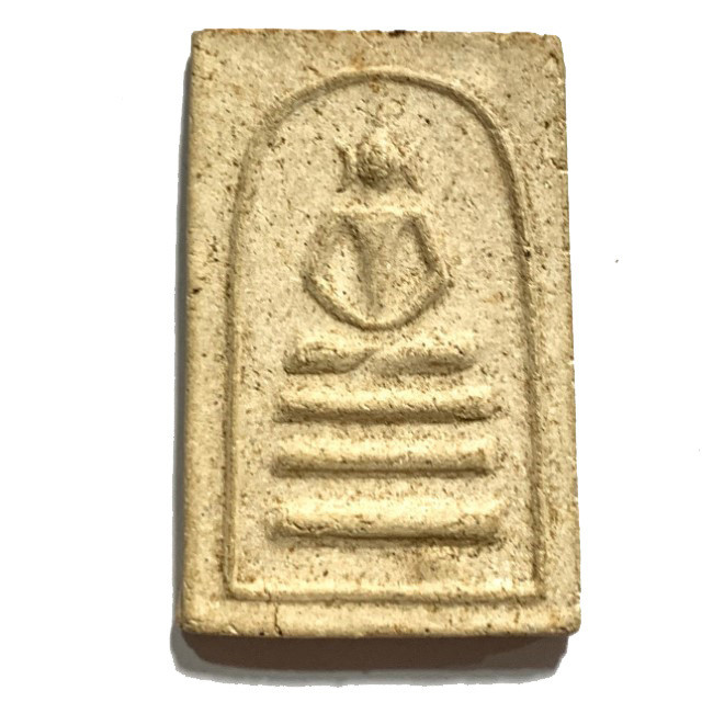 Pra Somdej Taewada Hak Sork Pim Yai Ongk Kroo 2 Takrut Master Class Amulet Luang Phu Nak  2485 BE