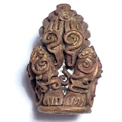 Pra Pid Ta Nai Kan - Run 'Por Tan Khiaw Ubpathamp' - Wat Huay Ngo - Nuea Tong Daeng Tuean - LP Tuad statue Malaysia edition