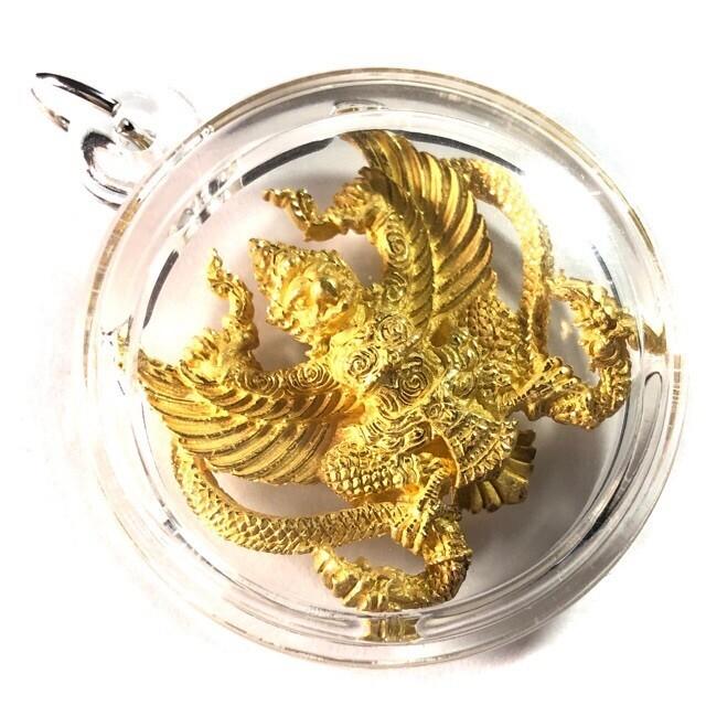Paya Krut Dech Yuk Nak (Garuda with Nagas) - Ajarn Amnaj - Nuea Chup Tong Pon Sai