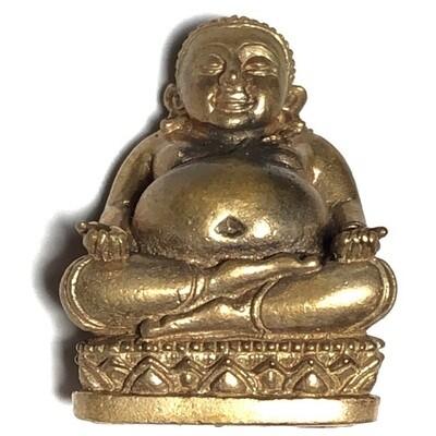 Pra Sangkajjai Loi Ongk Nuea Tong Daeng Ud Pong Traimas 2554 BE Edition Luang Por Sakorn Wat Nong Grub