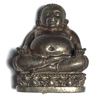 Pra Sangkajjai Loi Ongk Nuea Nava Loha Ud Pong Traimas 2554 BE Edition Luang Por Sakorn Wat Nong Grub