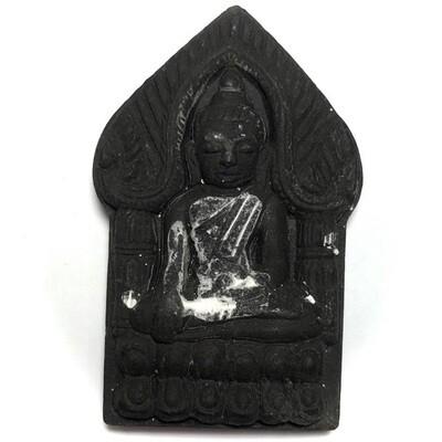 Khun Phaen Montr Maha Sanaeh Plai Dam - Hand Spell Inscription from Luang Por Dam - Wat Pra Puttabat Radtana Kiree